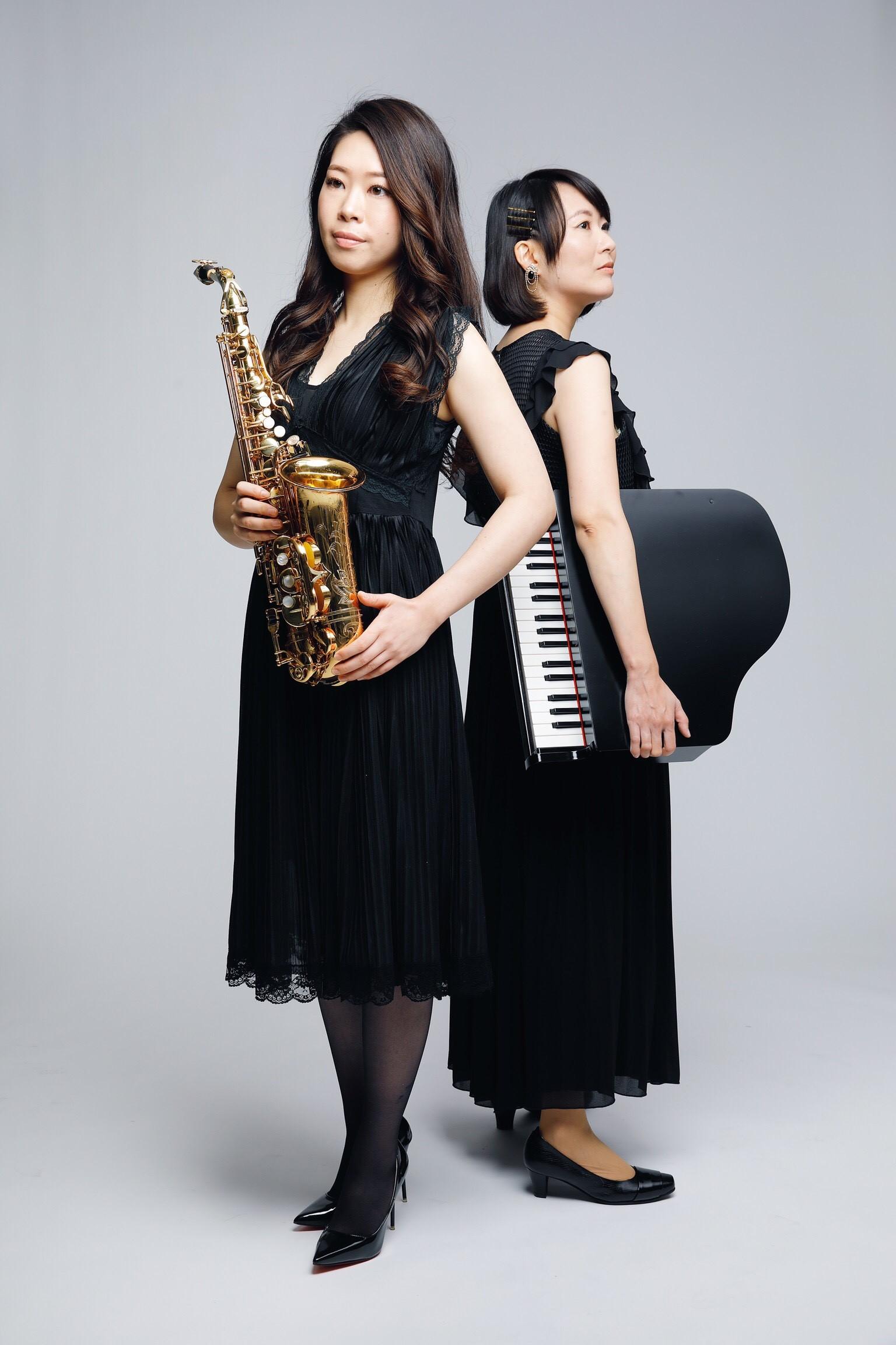 中島 諒子・清 薫 サックス&ピアノデュオ