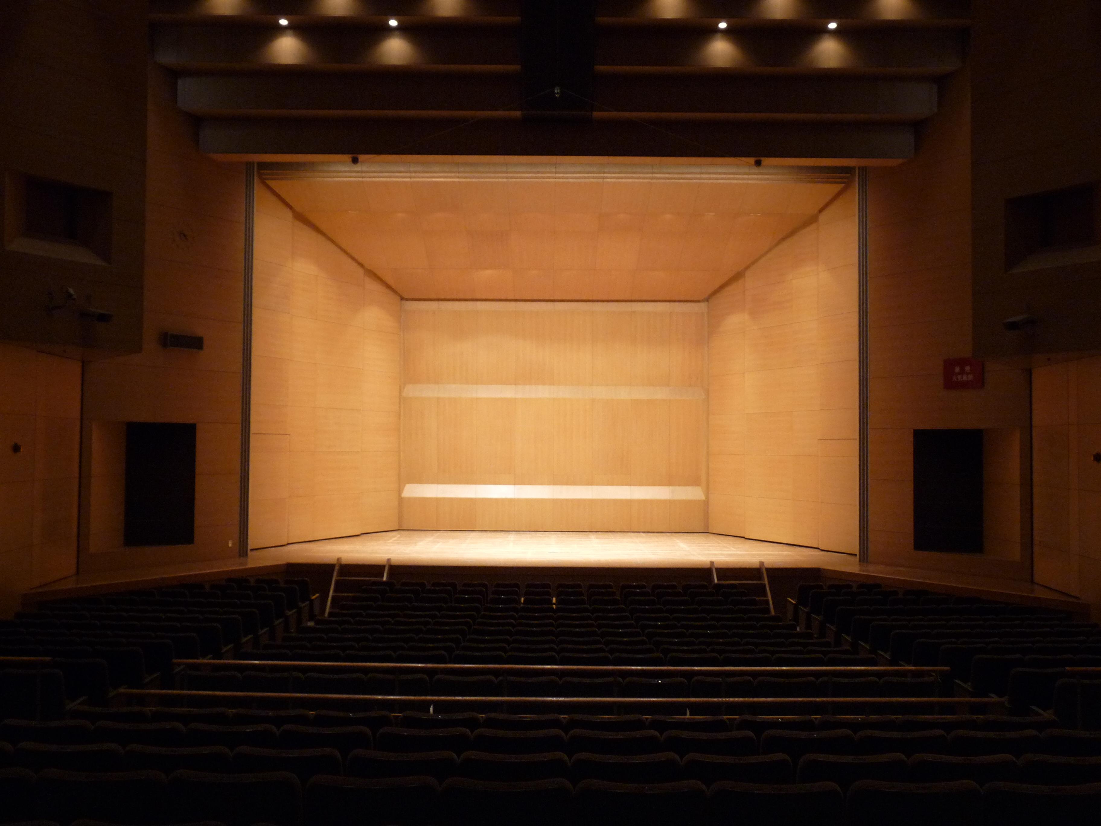 舞台(音響反射板)